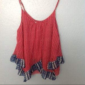 Abercrombie & Fitch Red White Blue Tank. Size S